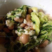 Zucchini-Weißebohnen-Salat 2