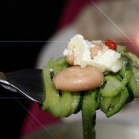 Zucchini-Weißebohnen-Salat 3