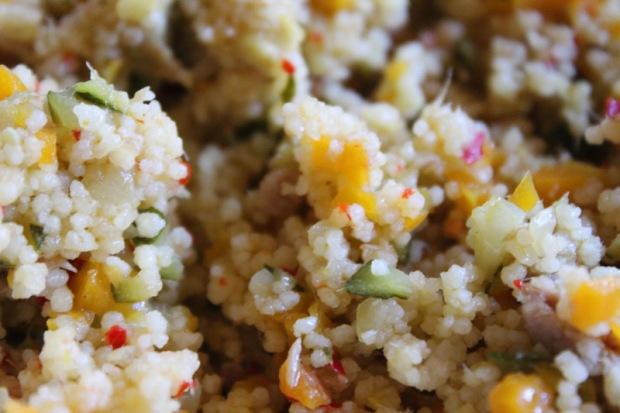Gemüse-Thunfisch Couscous 3