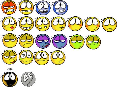 Smiley_aufgelistet