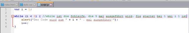 js schleifencode