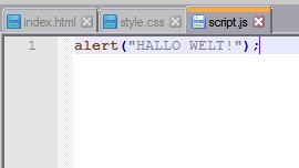 js textscript